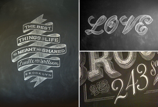 schoolbord inkt